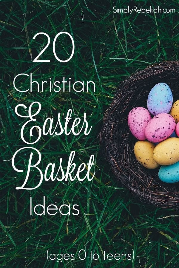 20 christian easter basket ideas negle Image collections