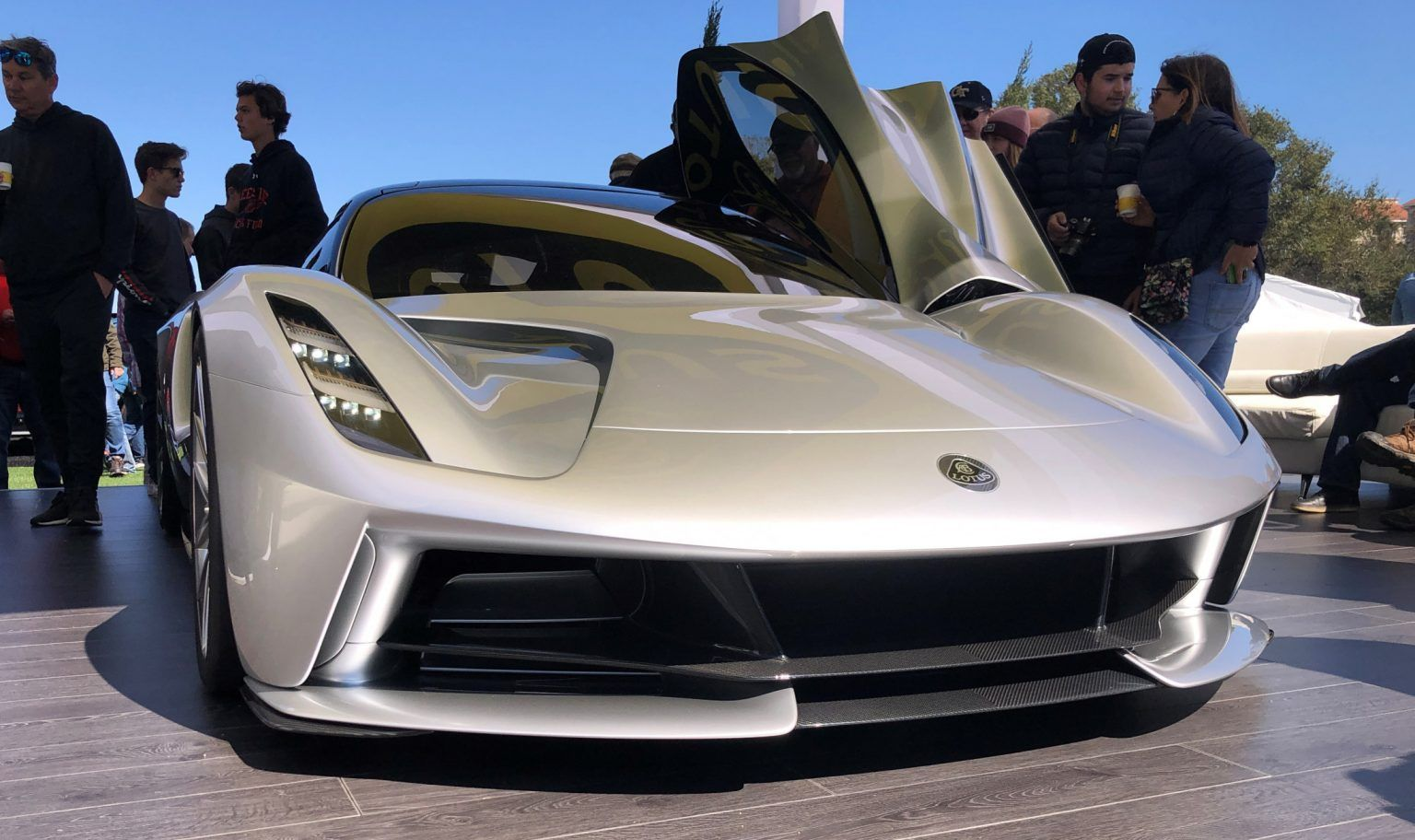 2021 LOTUS EVIJA (3) in 2020 Amelia island, Car
