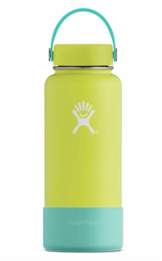 Custom 18oz Wide Mouth Cobalt Strap Mango Cap Mango Bottle Lava Boot Custom Hydro Flask Hydroflask Hydro Flask Accessories