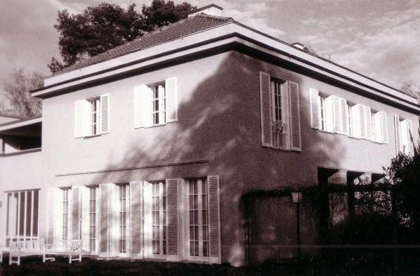 Mies van der rohe casa perls 1911 in questi anni l - Casa perls mies van der rohe ...
