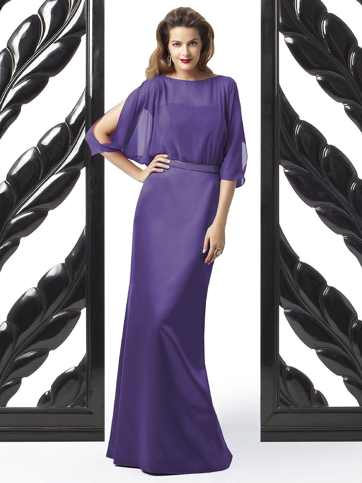 Dessy Collection Style 2873 #purple #bridesmaid #dress   PURPLE ...
