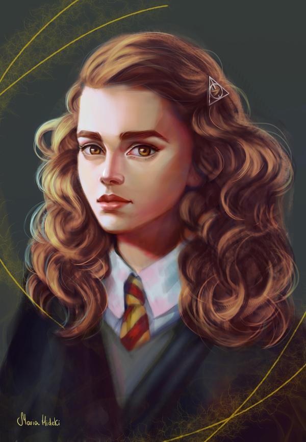 Hermione Granger By Maria Hideki On Deviantart In 2020 Harry Potter Anime Harry Potter Artwork Harry Potter Drawings