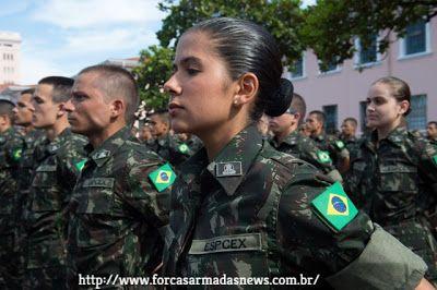 Exercito Tera Primeiras Mulheres Oficiais Combatentes Com Imagens