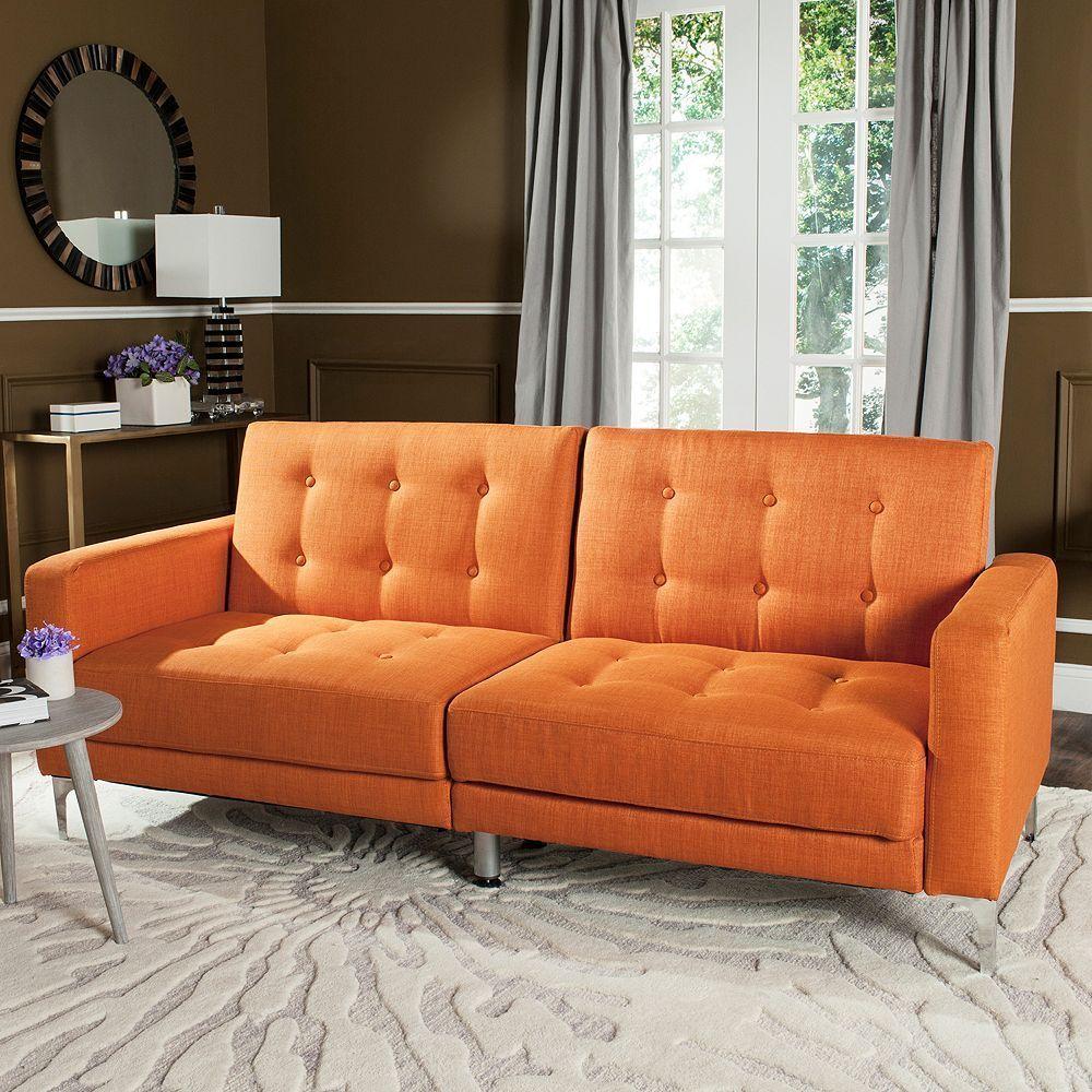 Safavieh Soho Foldable Futon Bed Grey