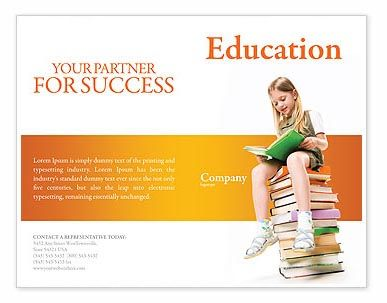25 free and premium education brochure templates free premium templates design flyer for Education flyer templates