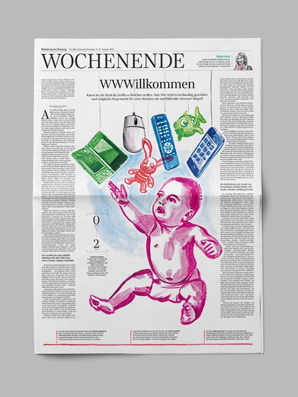 Süddeutsche Zeitung – Editorial Design on Behance