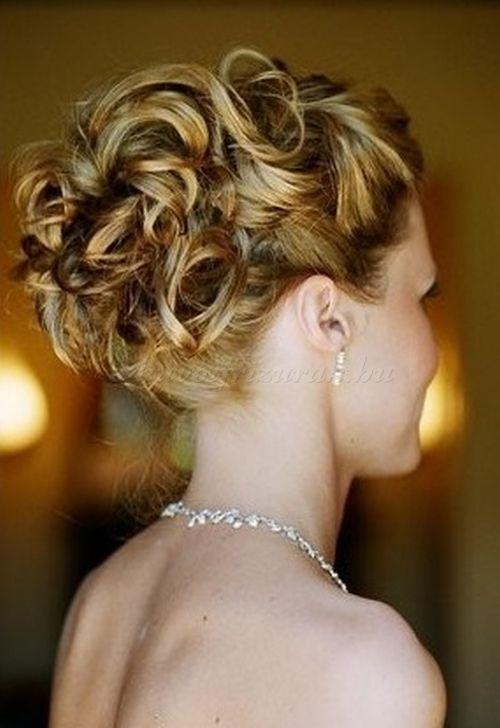 Photo of menyasszonyi + frizurák + hullámos + és + göndör + hajból + – + esküvői + konty + hullámo …