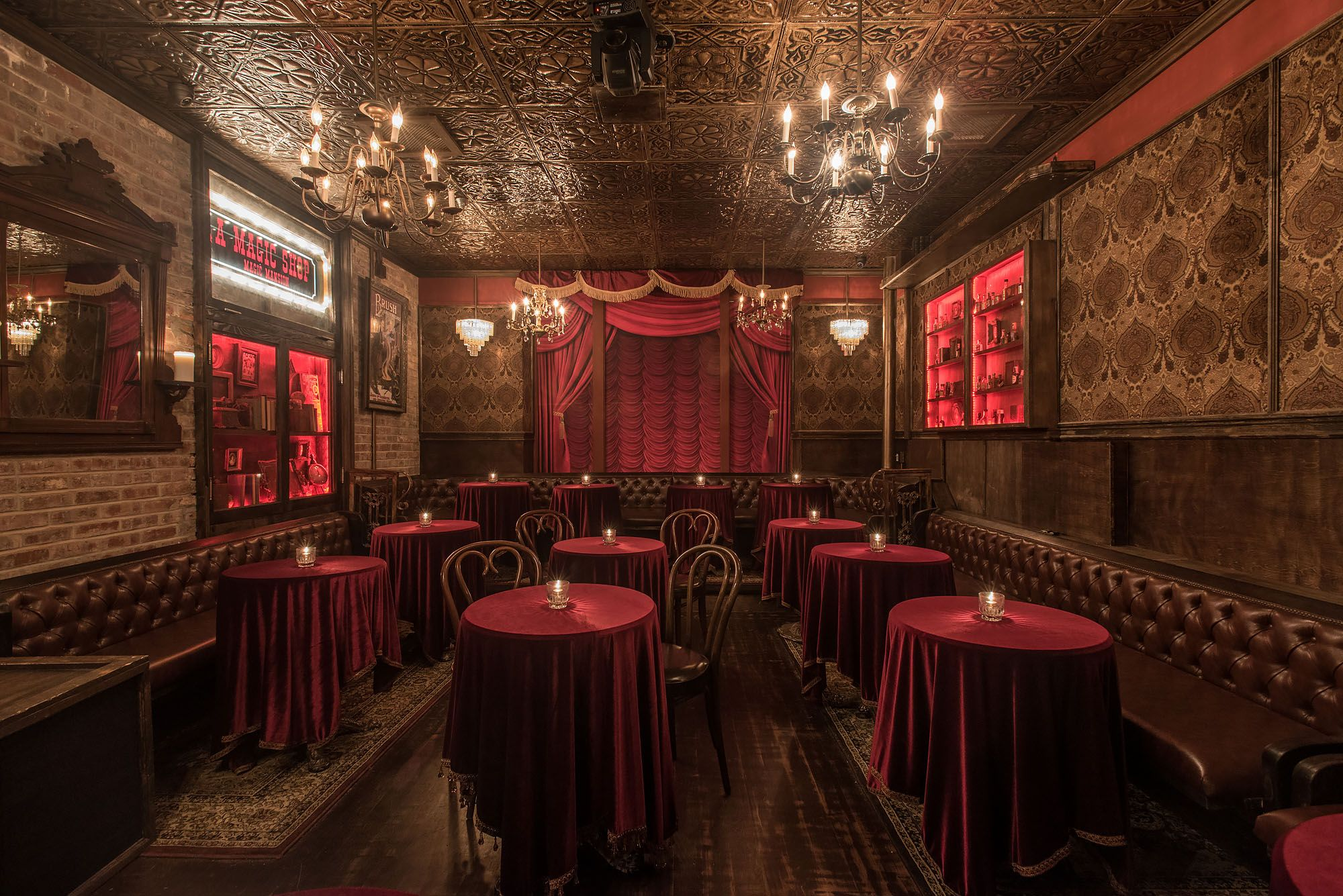 Black Rabbit Rose Is A Stunning Magic Show Theater In Hollywood Bars In Hollywood Los Angeles Fancy Restaurant