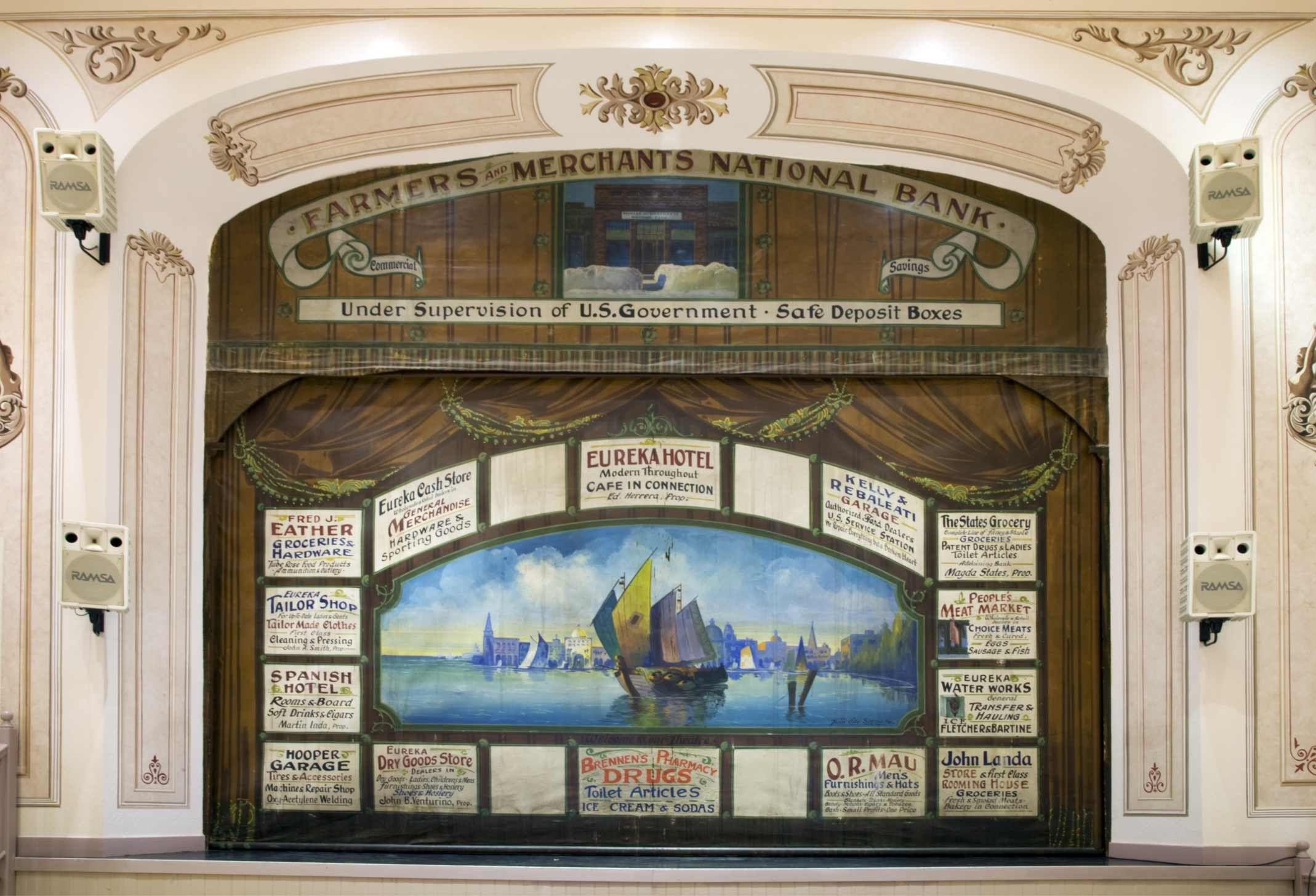Eureka Opera House  1880 Eureka Nevada