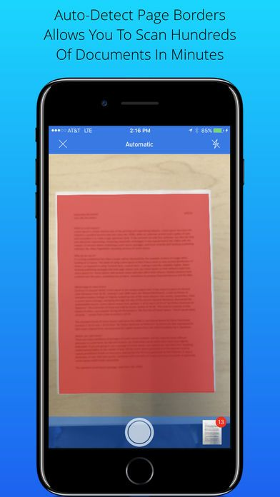 [iPhone] Scan My Document PDF Scanner Free Apps Gone