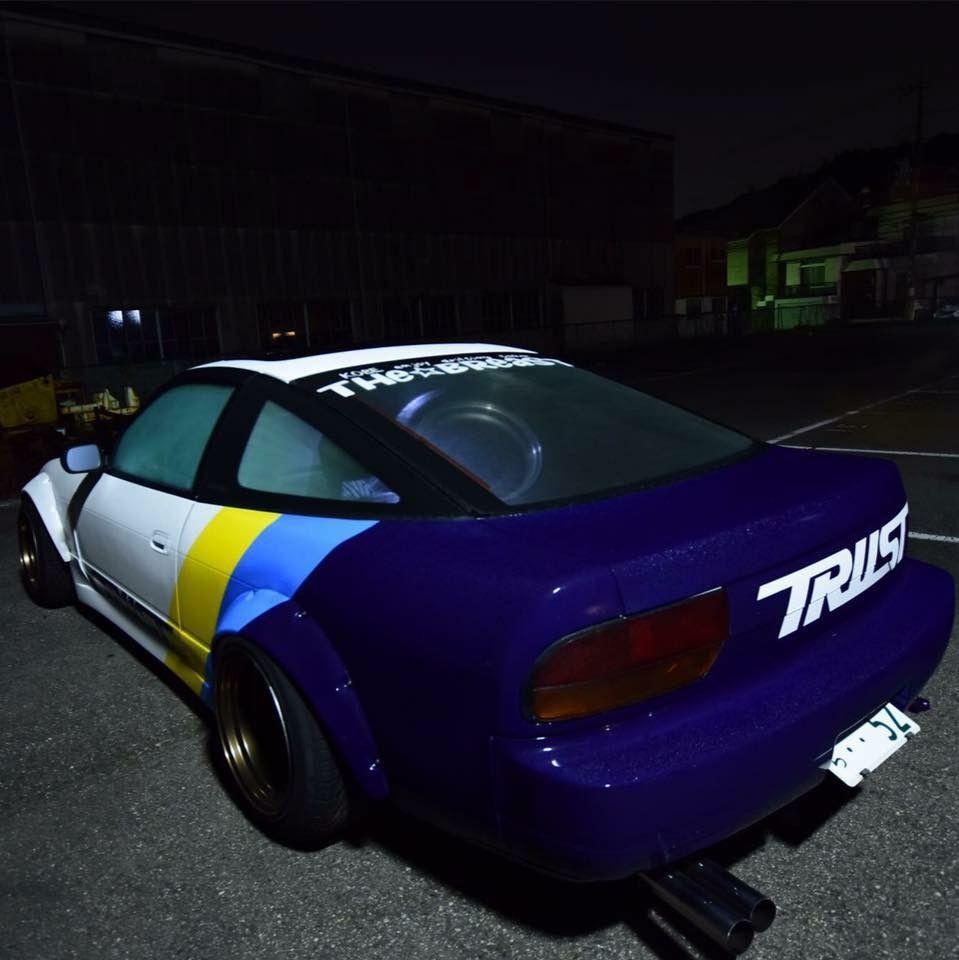 Nissan Silvia S13 Modified WideBodyFlares Slammed