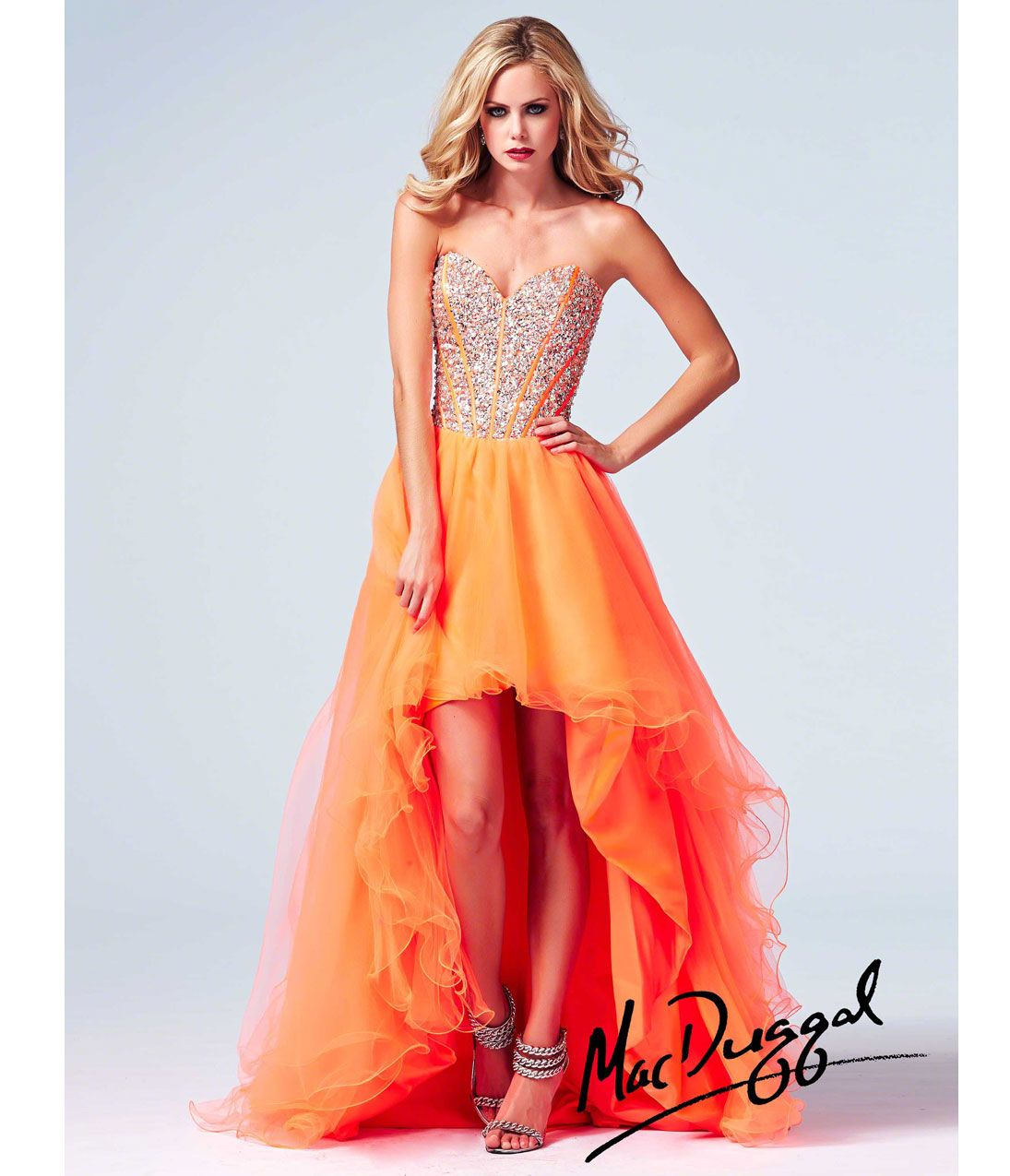 Images of Orange Prom Dresses - Klarosa