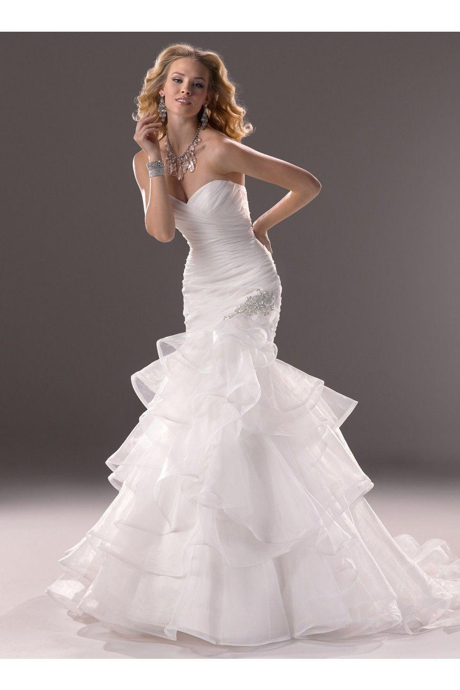 Großartig Brautkleider Meerjungfrau Schatz Ausschnitt Stil ...