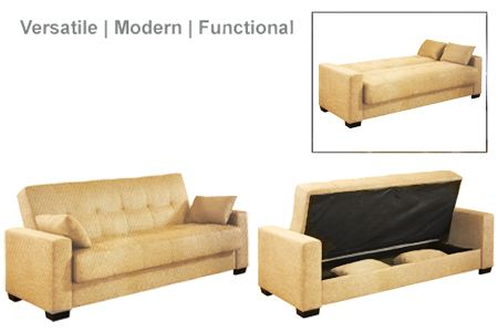 The Napa Modern Convertible Futon Sofa Bed Sleeper Jazz Beach Is One Of The  Most Comfortable