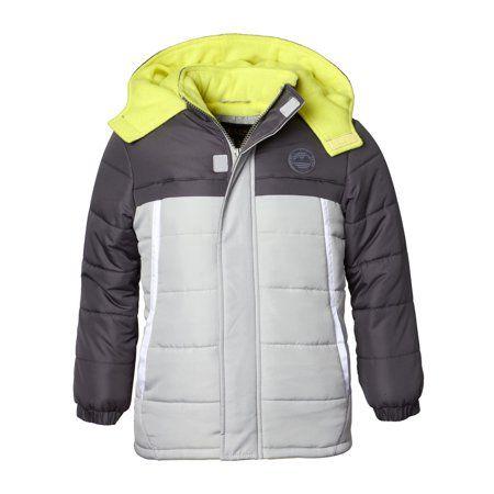 552a9ec1b Hooded Tonal Colorblock Puffer Jacket Coat (Baby Boys   Toddler Boys ...
