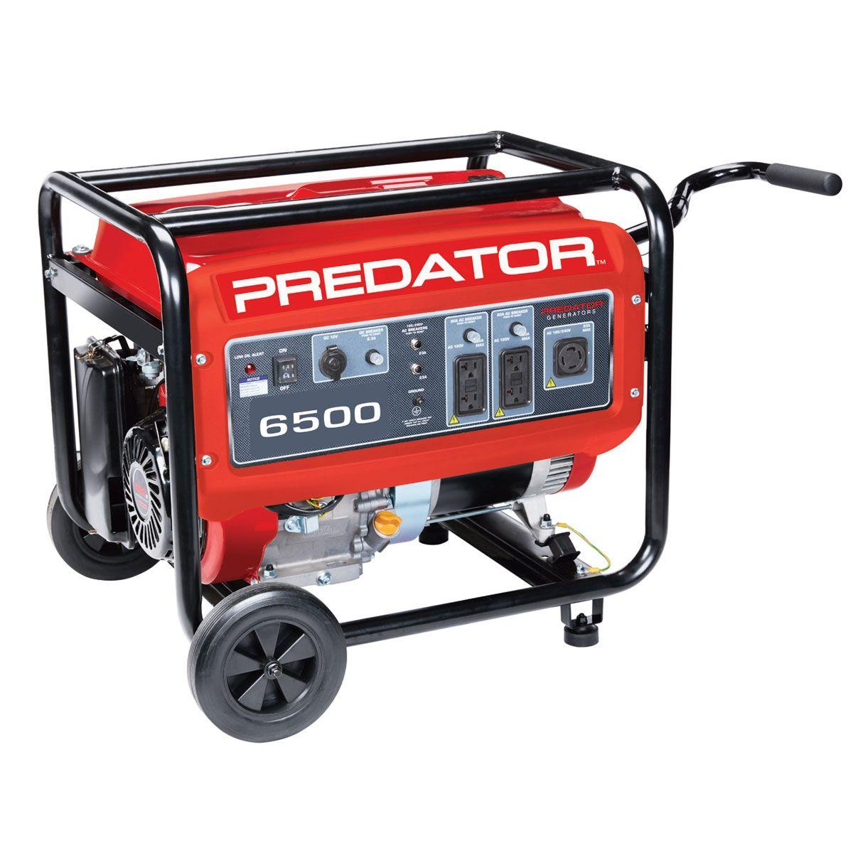 420cc, 6500 Watts Max/5500 Watts Rated Portable Generator