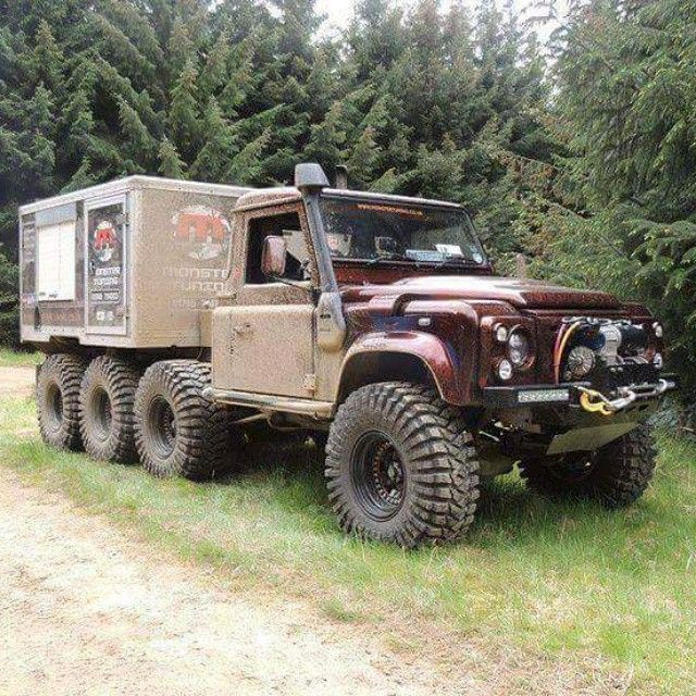 Pin By Oky Gaol On Land Rover 6x6, 8x8