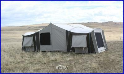 Kodiak Canvas Tents - Flex-Bow and Cabin Designs - Ground Tarp Offer & 12 person tent | Kodiak Canvas Grand Cabin Tent 12-person - Large ...