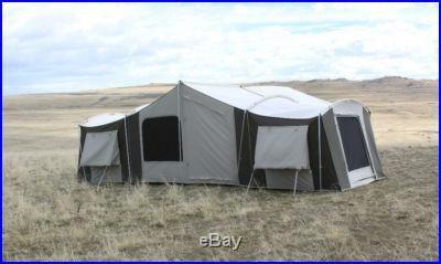 12 person tent | Kodiak Canvas Grand Cabin Tent 12-person