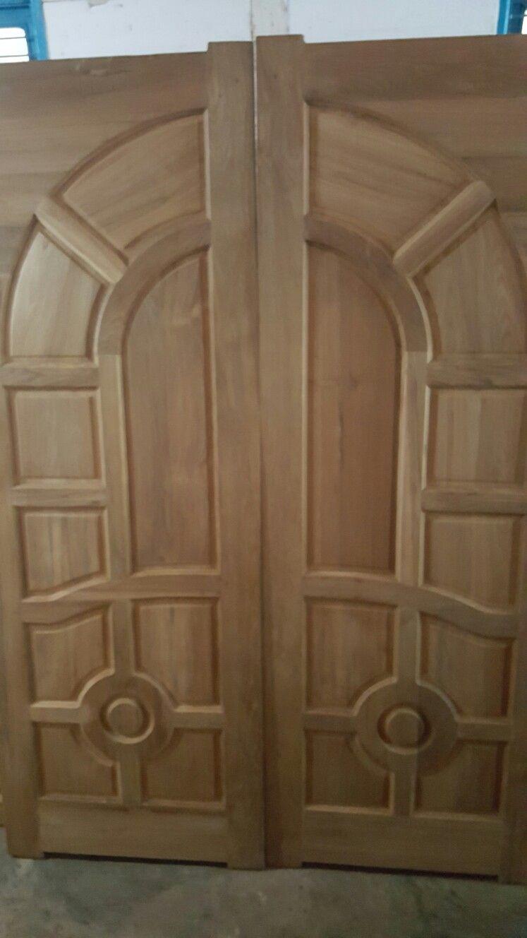 Gl Double Door Wooden Front Doors House