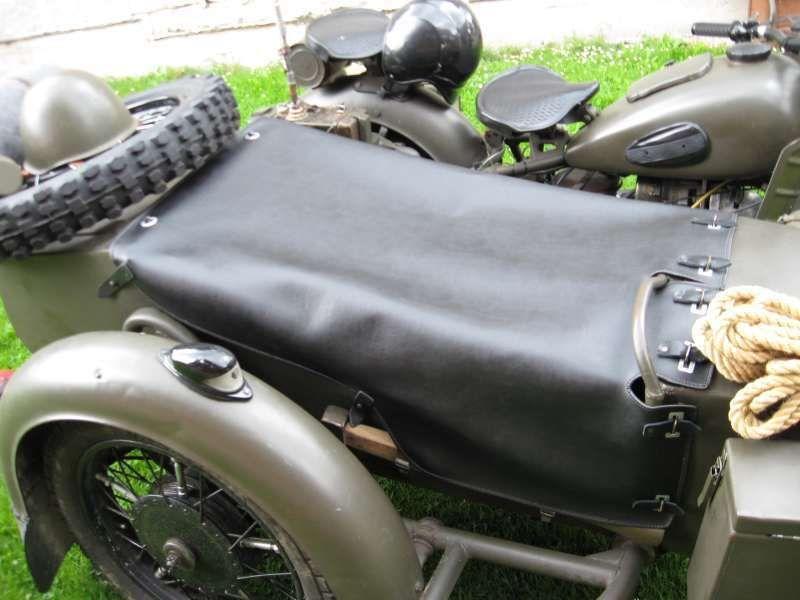 Sidecar cover URAL DNEPR NEW!