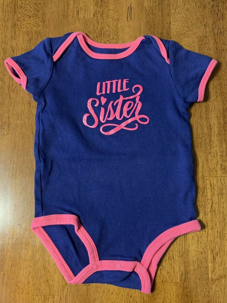 fbb019f00 Girls 18 Months Carters Bodysuit Little Sister EUC #fashion #clothing  #shoes #accessories #babytoddlerclothing #girlsclothingnewborn5t (ebay link)