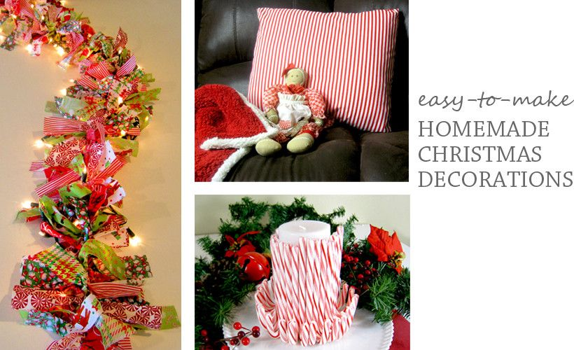 Homemade Indoor Christmas Decorations Christmas decoration items