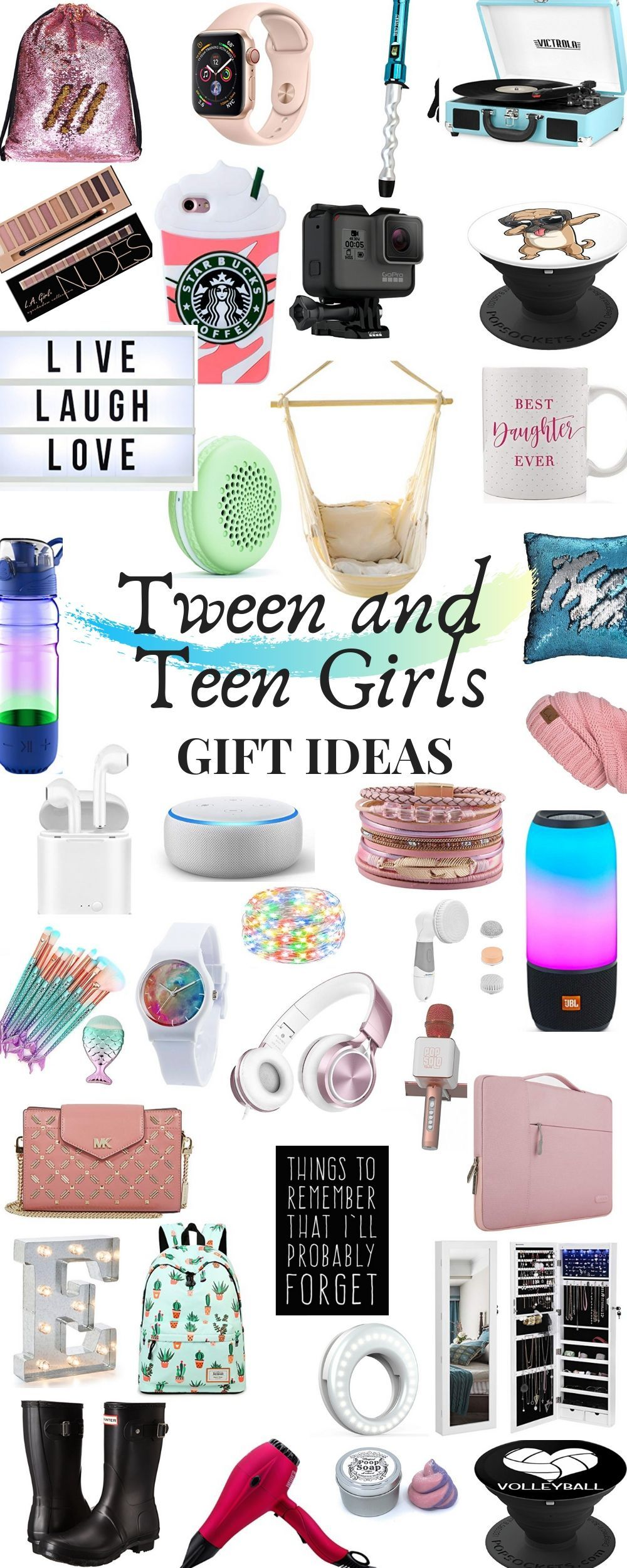 Teenage Girl and Tween Girl Gift Guide 2020 Teenage girl