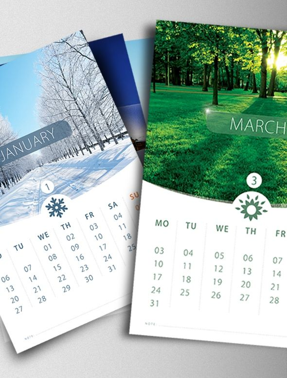 Make A Calendar Personal With Print Templates  Print Templates