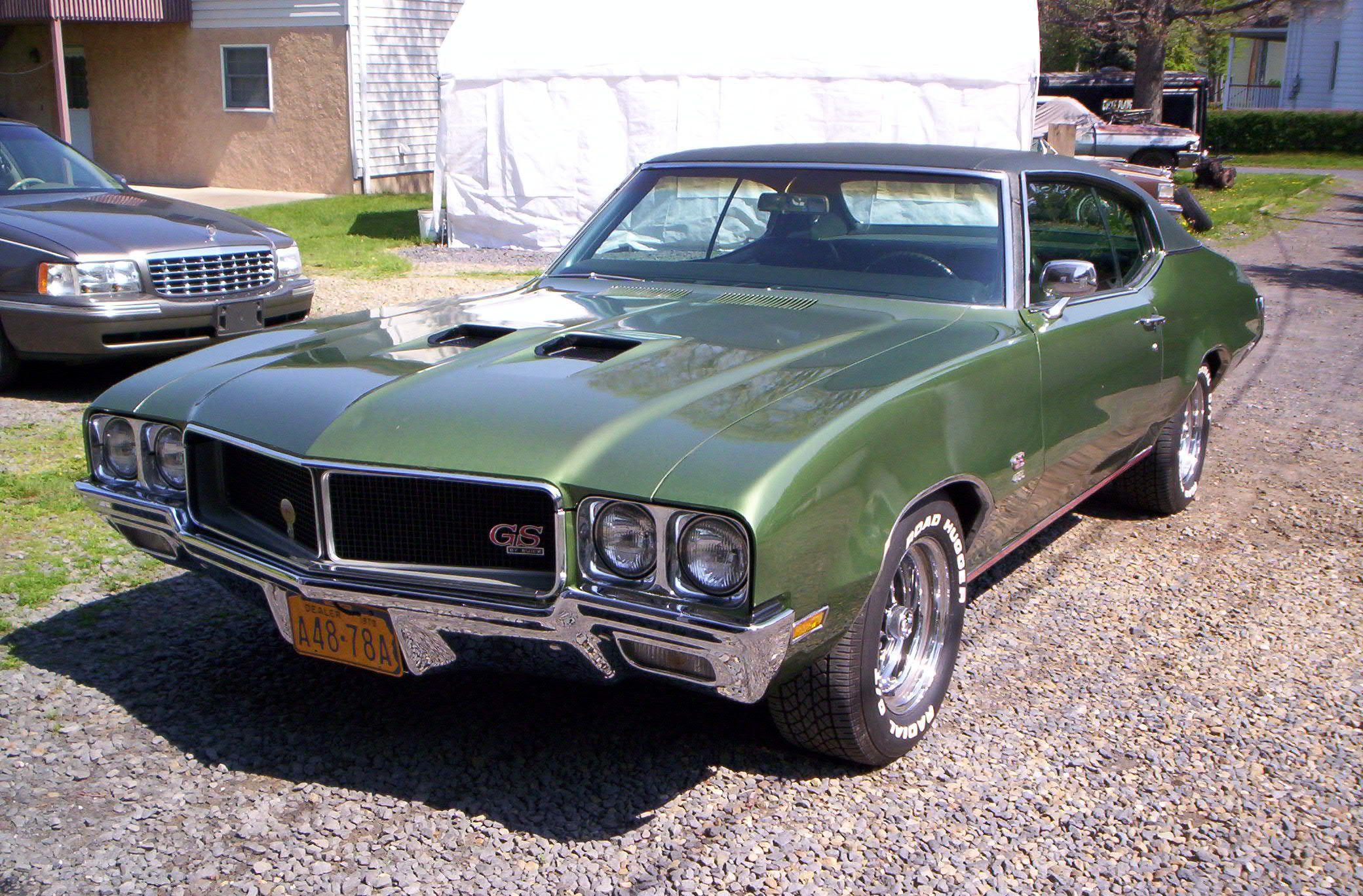 """1970 GS """"hood lip"""" Buick skylark, Buick, Buick gs"""