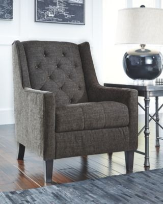 Charcoal Ardenboro Accents Chair View 1 Heart and Home Pinterest