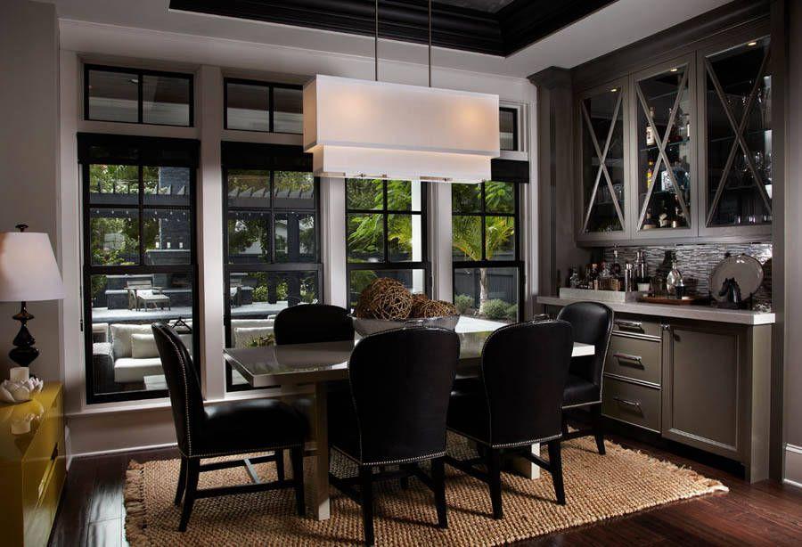 Contemporary dining free style interiors bonita - Interior designers bonita springs fl ...