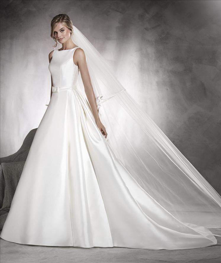 pronovias wedding dress africa