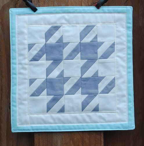 Houndstooth Mini Quilt | Flickr - Photo Sharing!