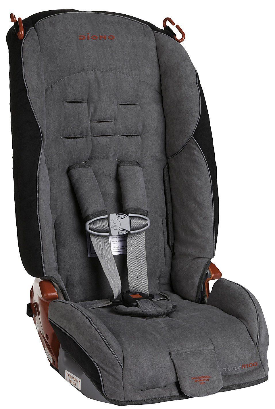 Diono Radian R100 Convertible+Booster Car Seat - Stone - time for ...