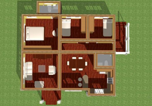 Simple modern homes and plans by jahnbar bacolod modern for 100 floors floor 62
