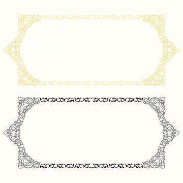 골든 프레임 무늬 틀 장식무료 다운로드를위한 Png 및 Psd 파일 Islamic Pattern Wedding Frames Flower Frame