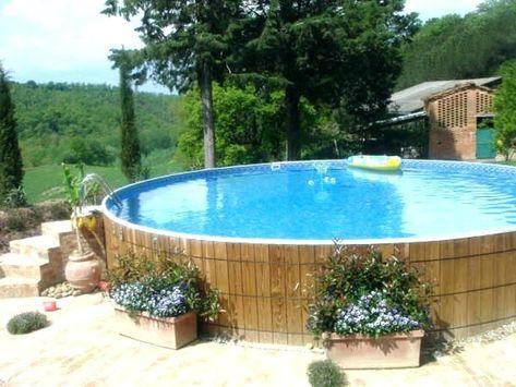 Rund um den Pool Ideen Pinterest - schwimmbad selber bauen