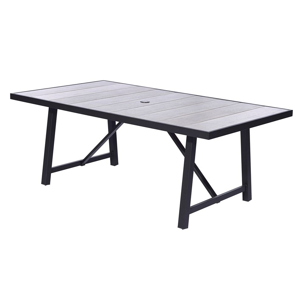 Lowes Clearance 300 73 Allen Roth Oakview Rectangular Patio