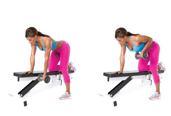 Reverse-Grip One-Arm Dumbbell Row | Healthy | Shoulder ...  Reverse-Grip On...