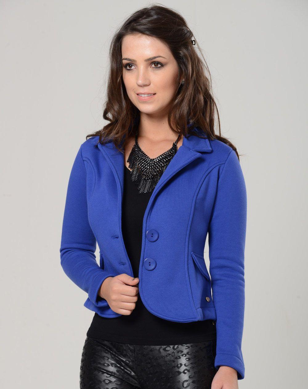 659da5db5 blazer feminino acinturado - Pesquisa Google | Casaquinhos | Blusa ...