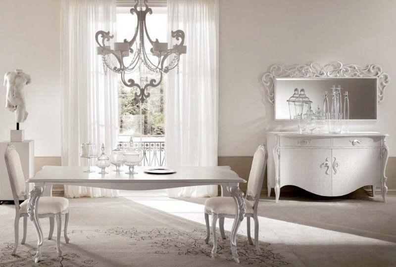 Salle à manger baroque dans un intérieur contemporain ...