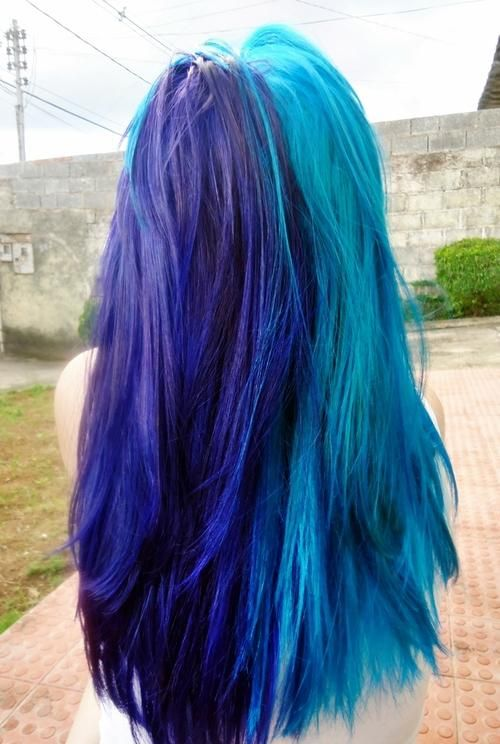 Dyed Blue Hair Hairstyles And Beauty Tips Turquoise Hair Hair Styles Hair