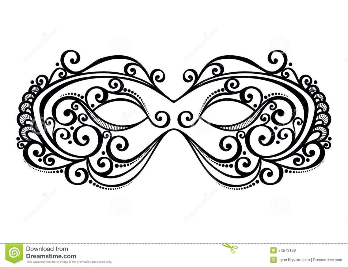 Masquerade mask template | my | Pinterest | Masquerade mask template ...