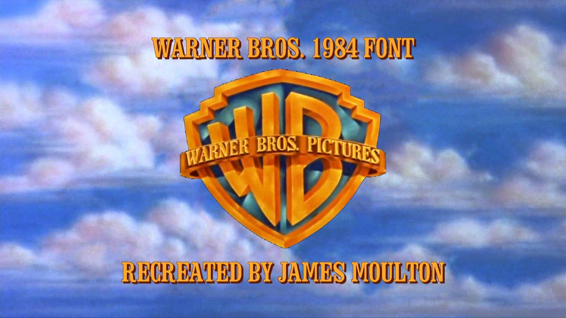 Warner Bros 1984 Font By Jamesmoulton1988