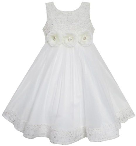 EV11 Girls Dress Wedding Pageant Shinning Trimmed Chiffon Party Size 2-3 Sunny Fashion http://www.amazon.com/dp/B00KNFJNL4/ref=cm_sw_r_pi_dp_PLv8tb0D92RDC