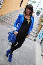 outfit giacca blu - Cerca con Google