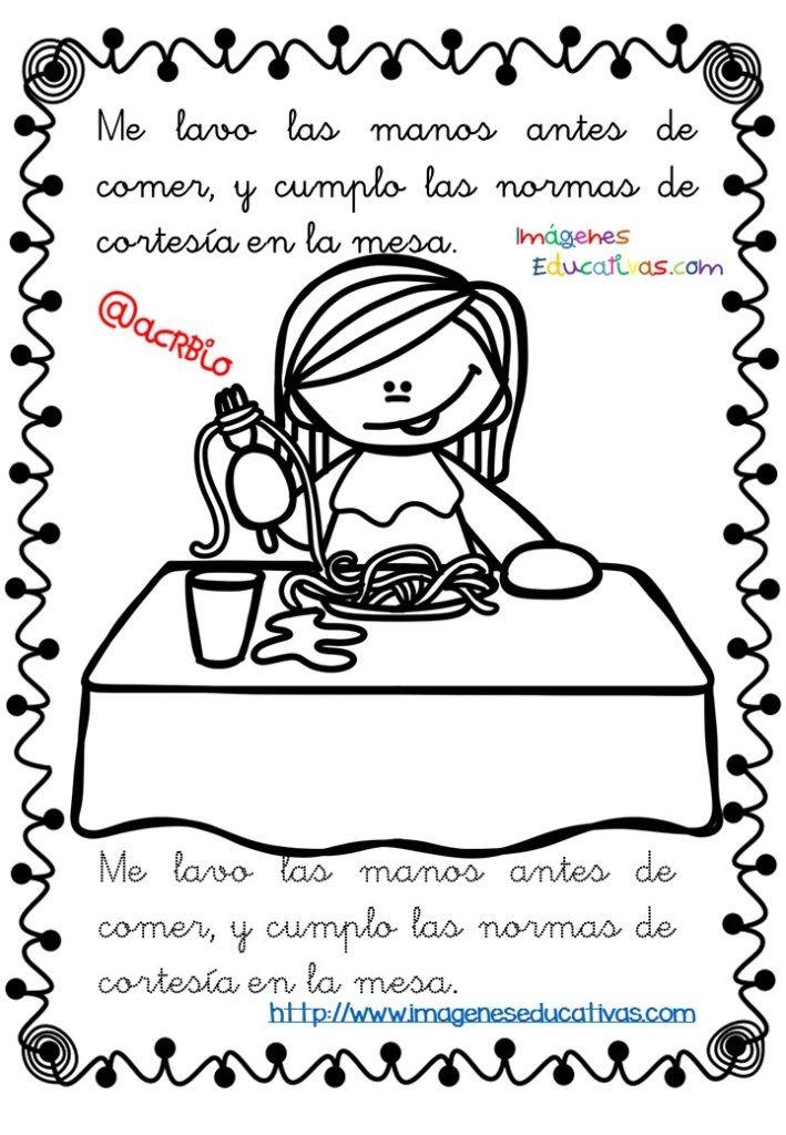 Rutinas libro para colorear y aprender (10 | trucos | Pinterest ...