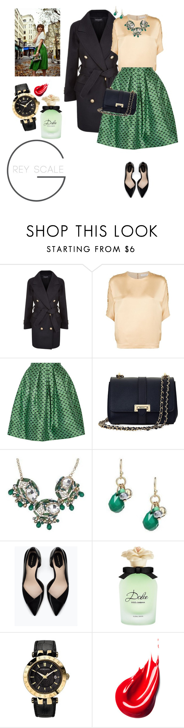 """Be you"" by lera-chyzh ❤ liked on Polyvore featuring Balmain, Chloé, Oscar de la Renta, Aspinal of London, Zara, Dolce&Gabbana and Versace"