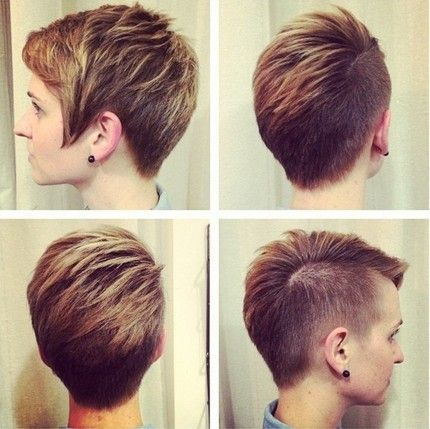 Swell 1000 Images About Hair Ideas On Pinterest Shaved Sides High Short Hairstyles Gunalazisus